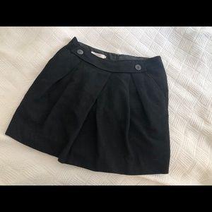 comptoir des cotonniers wool skirt size 4-6